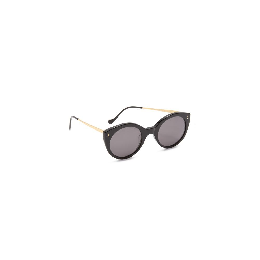 イレステーバ Illesteva レディース アクセサリー メガネ・サングラス【Palm Beach Sunglasses】Black/Grey