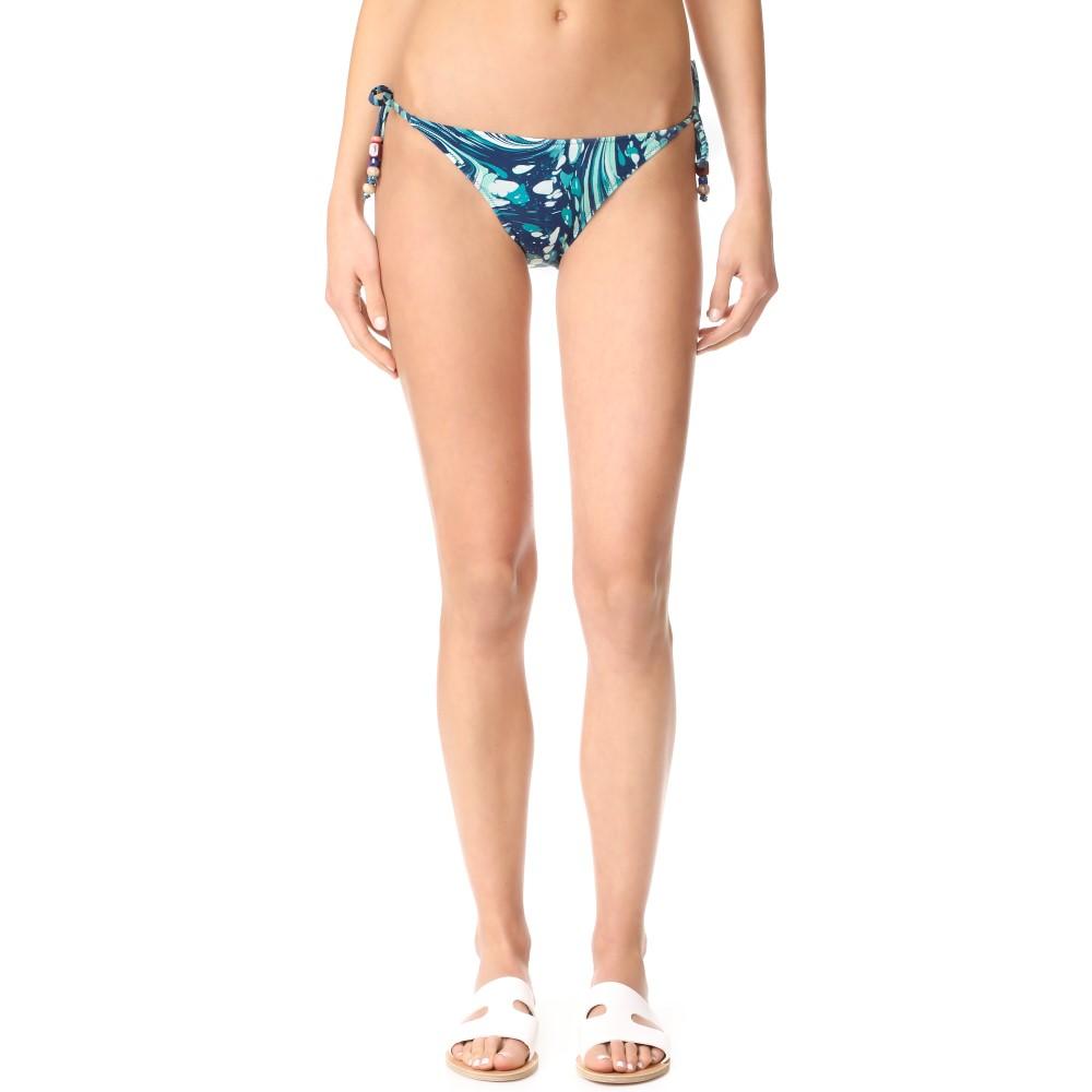 ステラ マッカートニー Stella McCartney レディース 水着 ボトムのみ【Mix & Match Tie Bikini Bottoms】Blue Marble