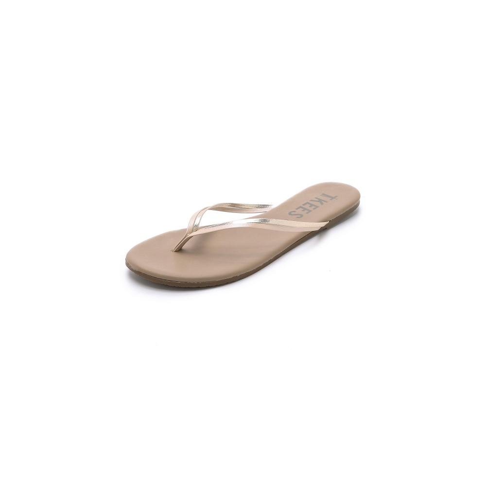 ティキーズ TKEES レディース シューズ・靴 サンダル【Duos Flip Flops】Oyster Shell