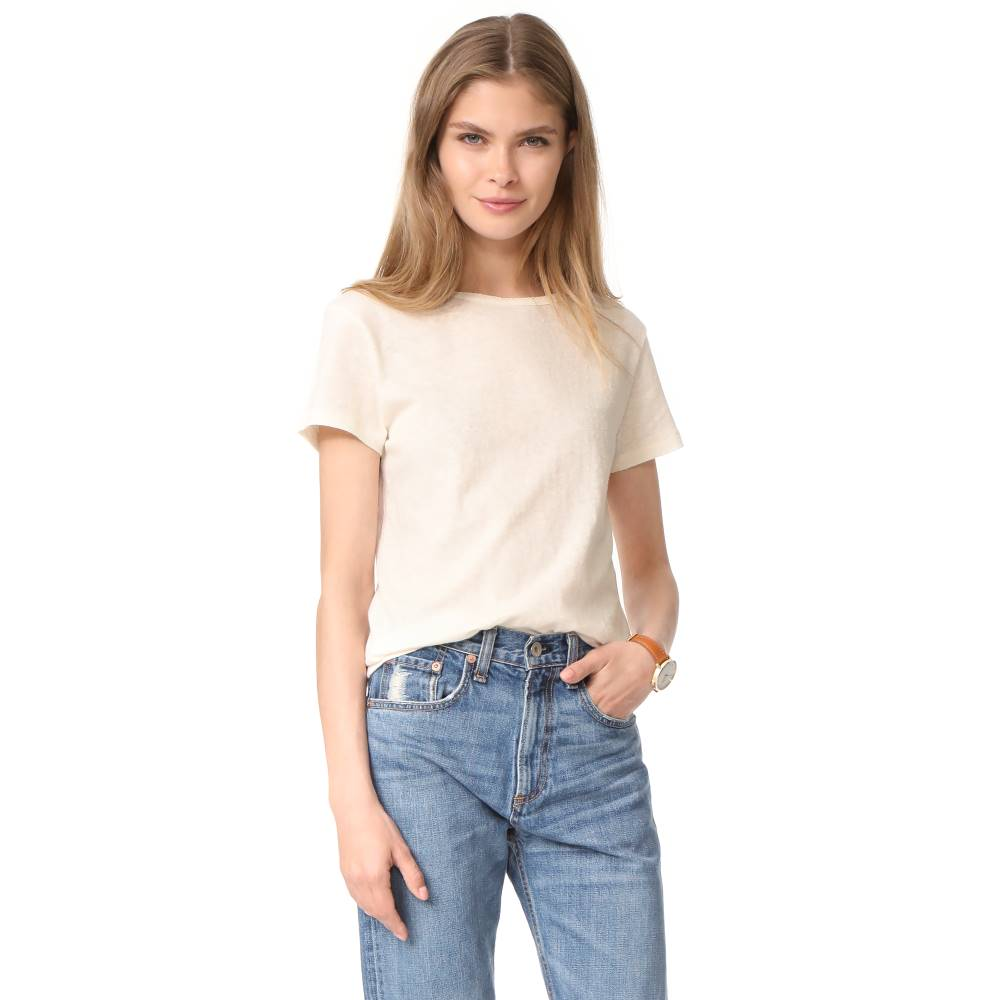 アーペーセー A.P.C. レディース トップス Tシャツ【Lydia T-Shirt】Blanc Casse