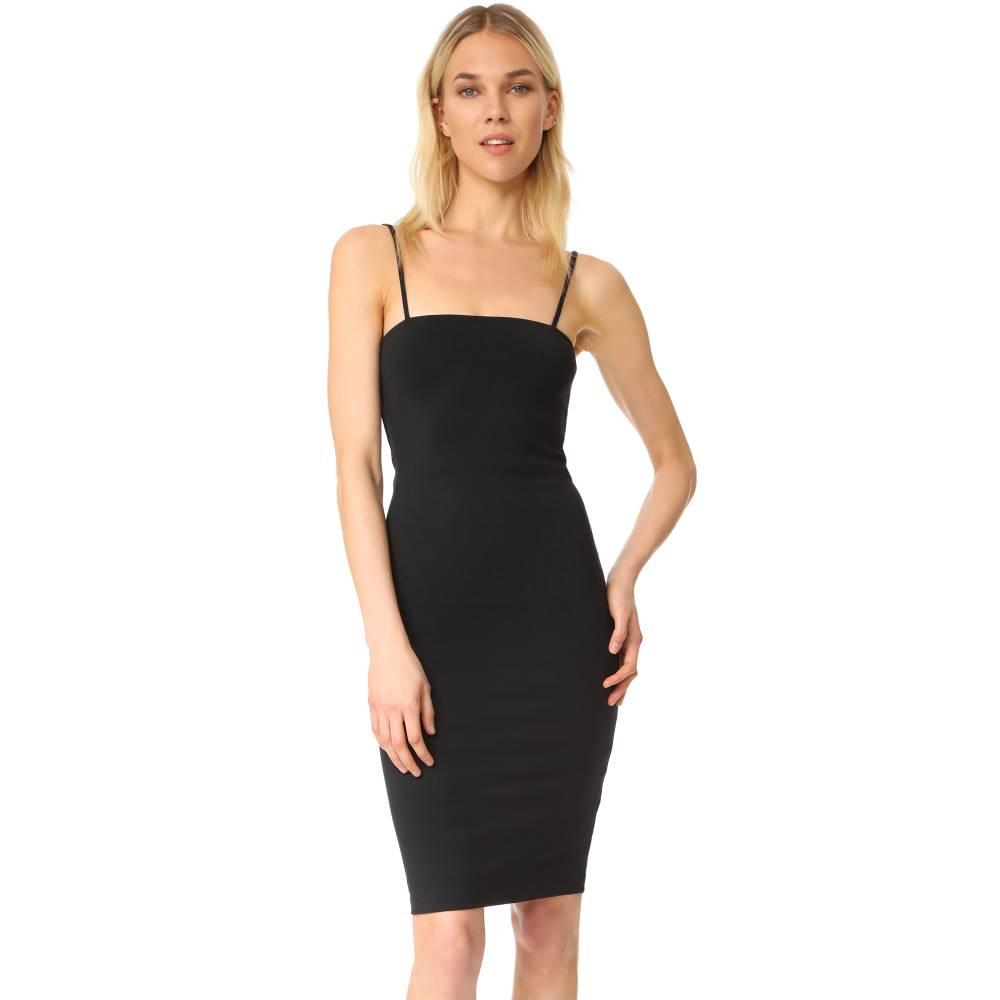 デイヴィッド ラーナー David Lerner レディース トップス ワンピース【Tank Dress with Back Zip】Classic Black
