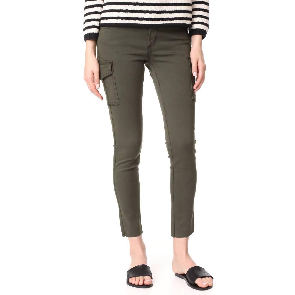 バーゲンSALE ジェームスジーンズ James Jeans レディース ボトムス ジーンズ【Mid Rise Ankle Jeans】Army Green