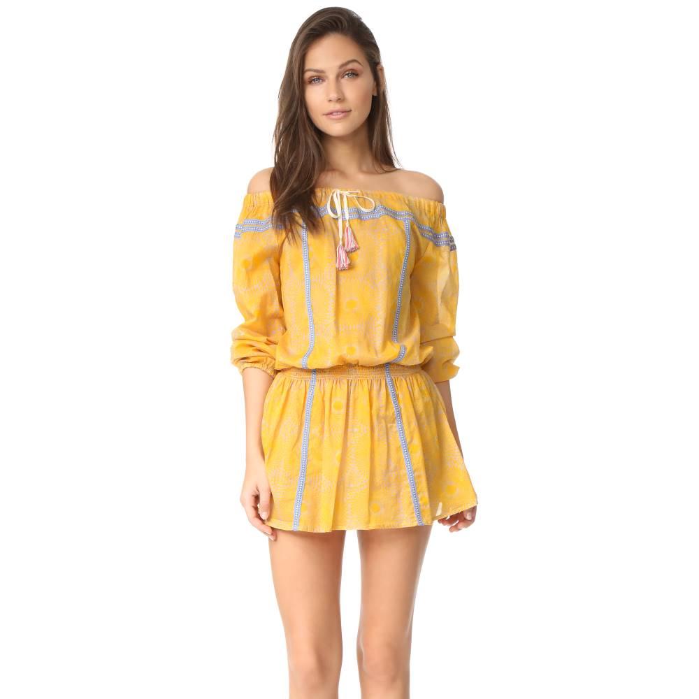 レムレム Lemlem レディース 水着 ビーチウェア【Makena Mini Dress】Yellow