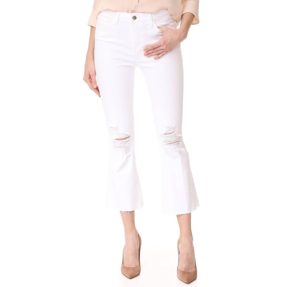 超チープ ラジャンス L'AGENCE レディース ボトムス ジーンズ【Sophia High Rise Crop Jeans】Blanc