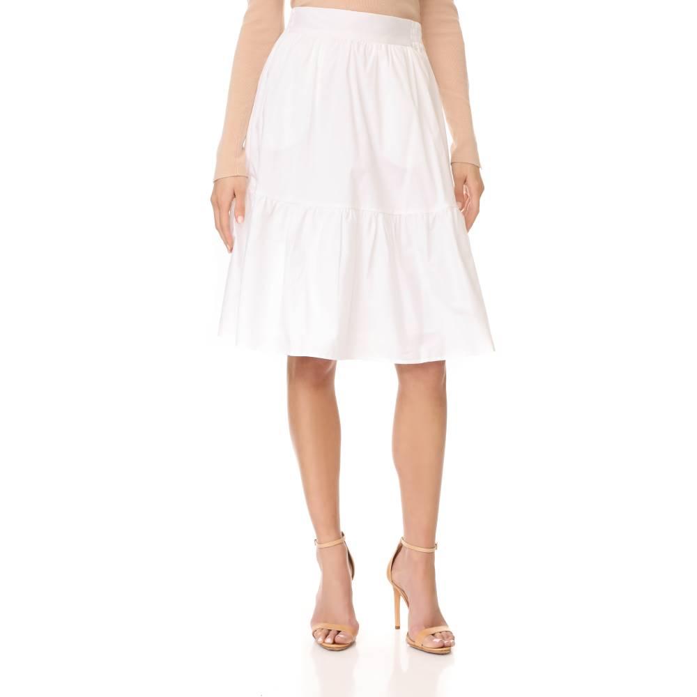 スプレンディッド Splendid レディース スカート カジュアルスカート【Cotton Skirt】White