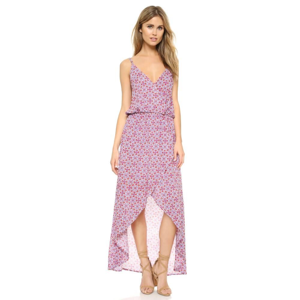 ティアレ ハワイ TIARE HAWAII レディース 水着 ビーチウェア【Boardwalk Dress】Beach Glass Red/Purple