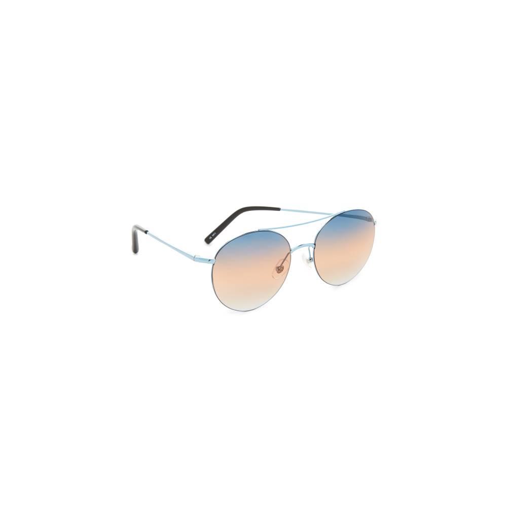 マシュー ウィリアムソン Matthew Williamson レディース アクセサリー メガネ・サングラス【Round Aviator Sunglasses】Blue/Blue Brown