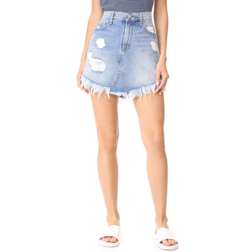 セブン フォー オール マンカインド 7 For All Mankind レディース スカート ミニスカート【Raw Hem Miniskirt】Vintage Wythe
