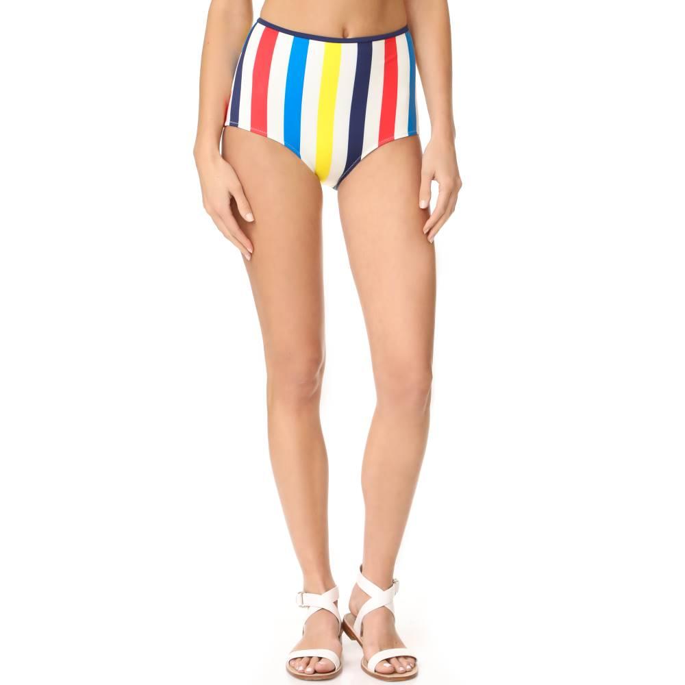 ソリッド&ストライプ Solid & Striped レディース 水着 ボトムのみ【The Brigitte Bikini Bottoms】Primary Multi