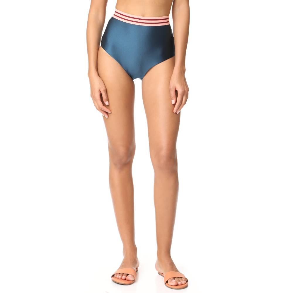 ジマーマン Zimmermann レディース 水着 ボトムのみ【Separates High Waist Bikini Bottoms】Petrol