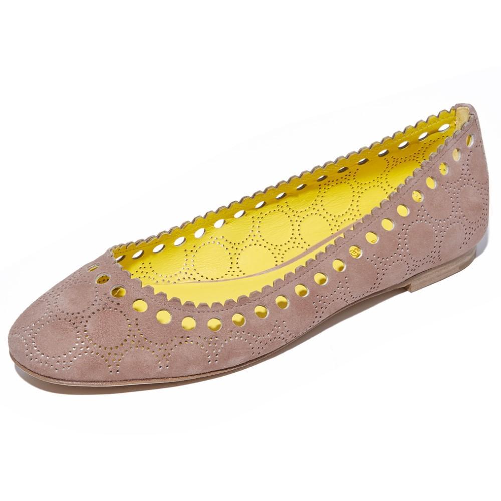 ダイアン フォン ファステンバーグ Diane von Furstenberg レディース シューズ・靴 フラット【Corolla Ballet Flats】Powder