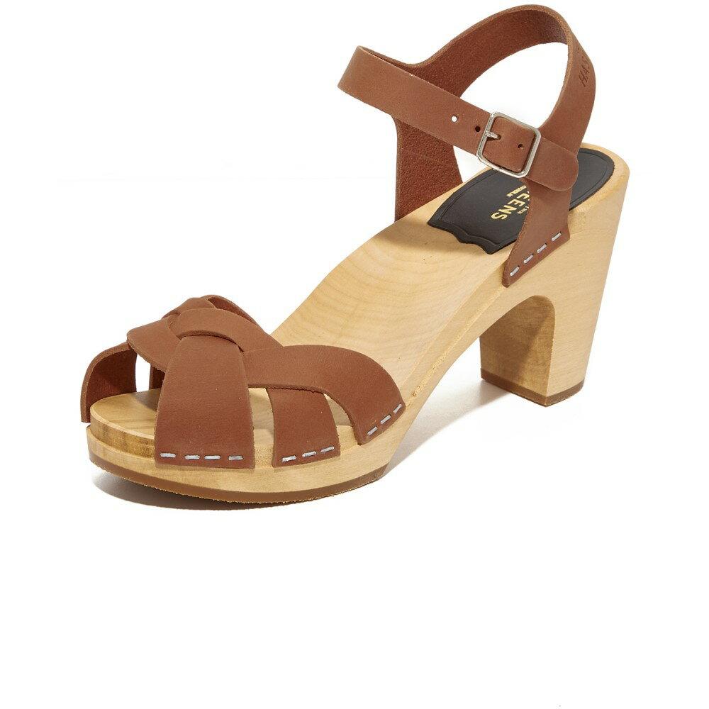 スウェディッシュ ハズビーンズ Swedish Hasbeens レディース シューズ・靴 サンダル【Kringlan Sandals】Cognac