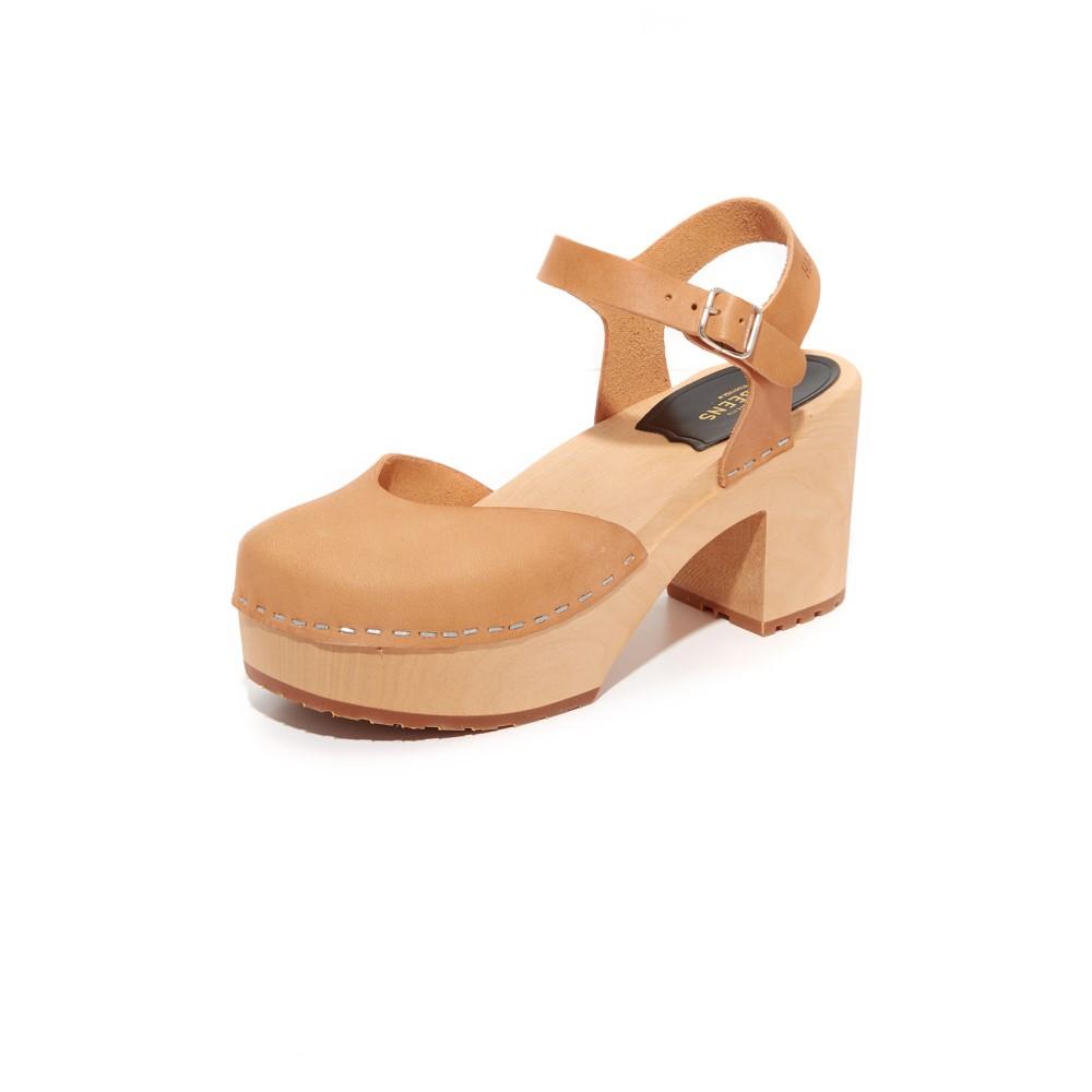 スウェディッシュ ハズビーンズ Swedish Hasbeens レディース シューズ・靴 サンダル【Krillan Platform Sandals】Nature