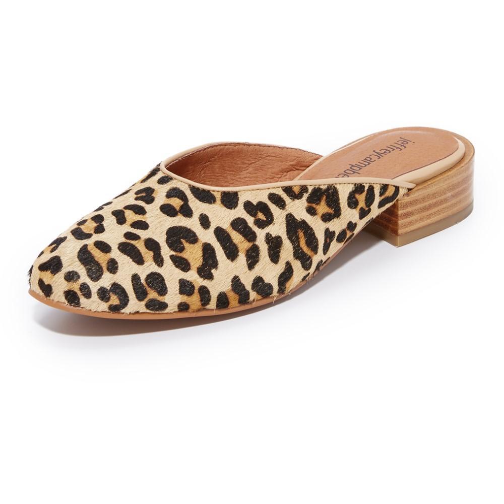 ジェフリーキャンベル Jeffrey Campbell レディース シューズ・靴 フラット【Mula Mules】Natural Cheetah