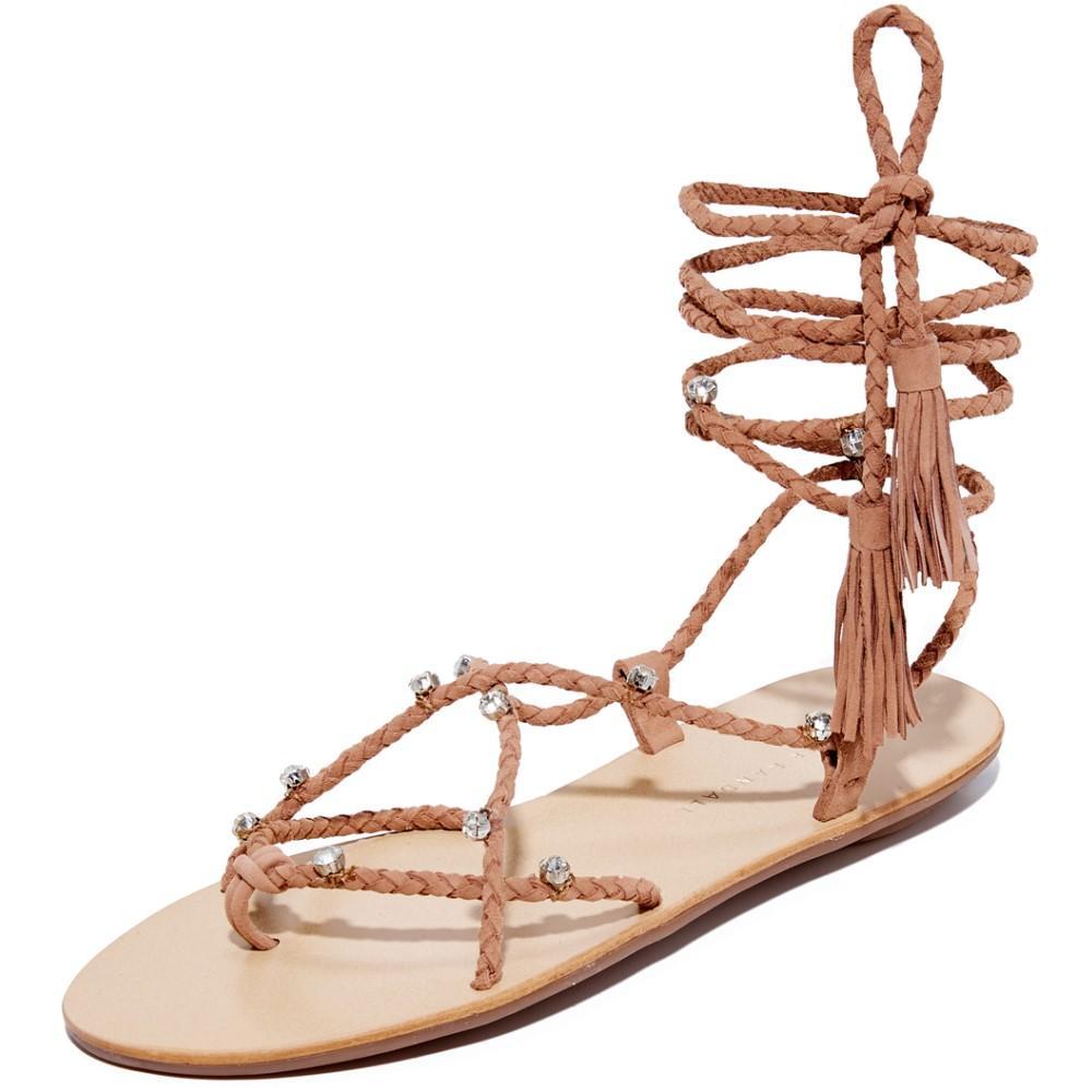 ロフラーランドール Loeffler Randall レディース シューズ・靴 サンダル【Bo Wrap Sandals】Deep Blush