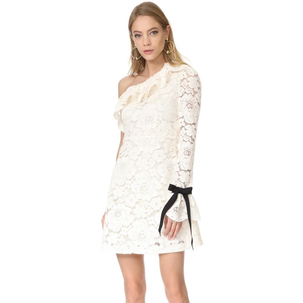 フィロソフィ ディ ロレンツォ セラフィニ Philosophy di Lorenzo Serafini レディース トップス ワンピース【One Shoulder Dress】White