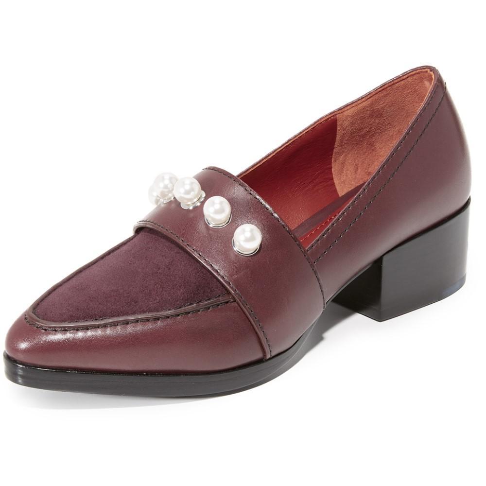 スリーワン フィリップ リム 3.1 Phillip Lim レディース シューズ?靴 フラット【Quinn Loafers】Malbec