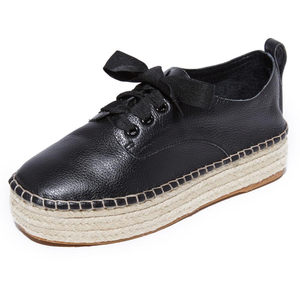 ソルサナ Sol Sana レディース シューズ・靴 エスパドリーユ【Mannie Espadrille Platform Sneakers】Black