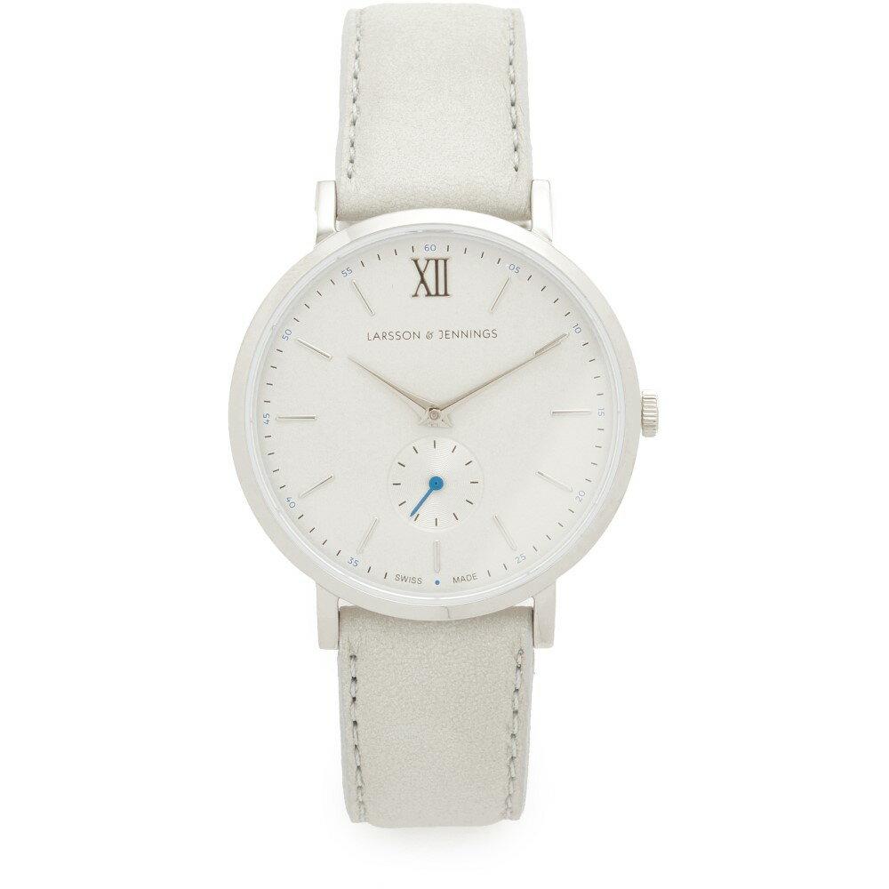 ラーソン アンド ジェニングス Larsson & Jennings レディース アクセサリー 腕時計【Lugano II Watch】Silver/Light Grey/Blue