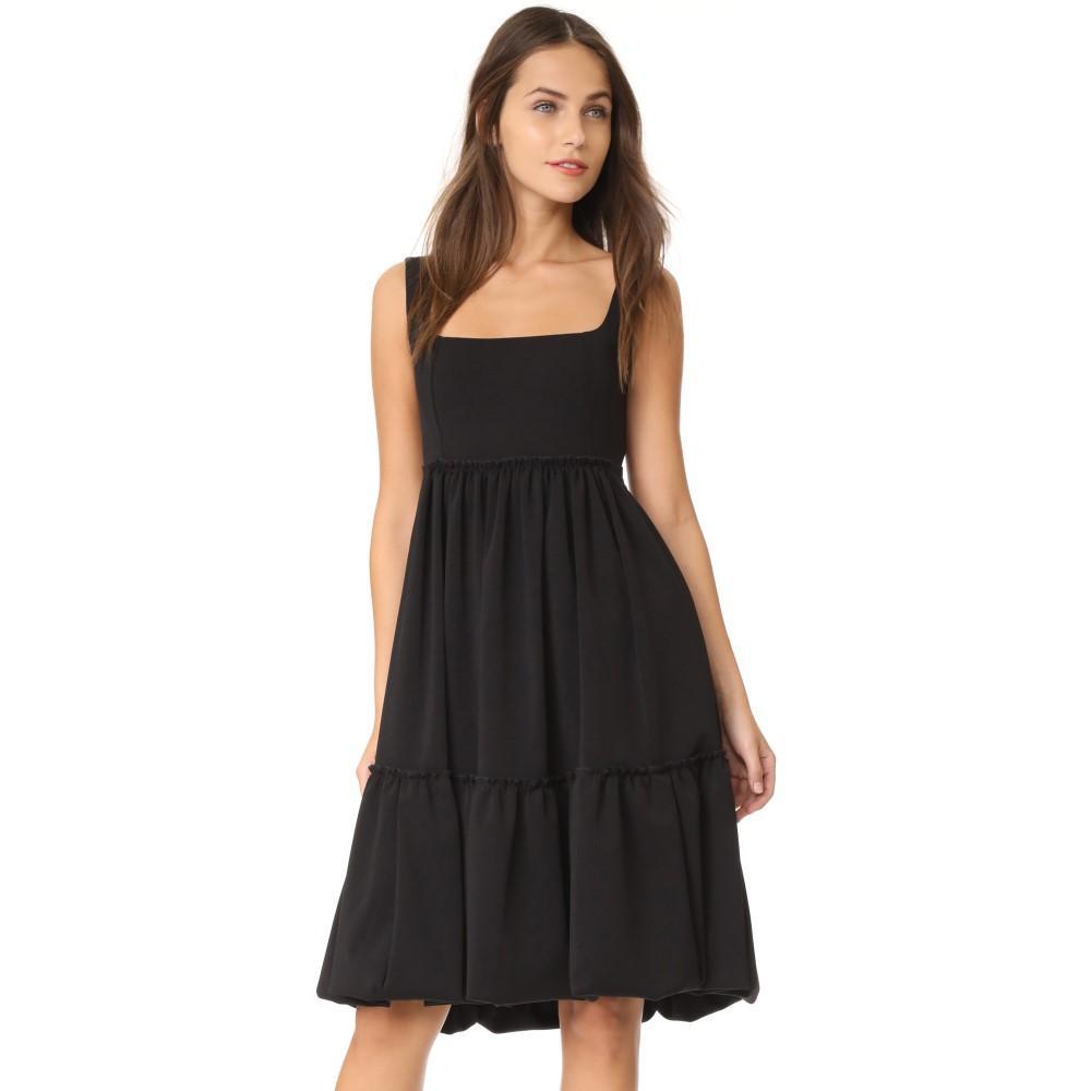 アメリア トロ レディース ワンピース・ドレス パーティードレス【Peasant Dress】Black