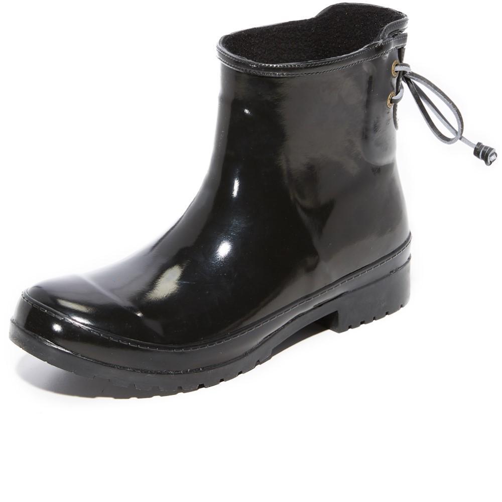 スペリー レディース シューズ?靴 レインシューズ?長靴【Walker Turf Rain Booties】Black