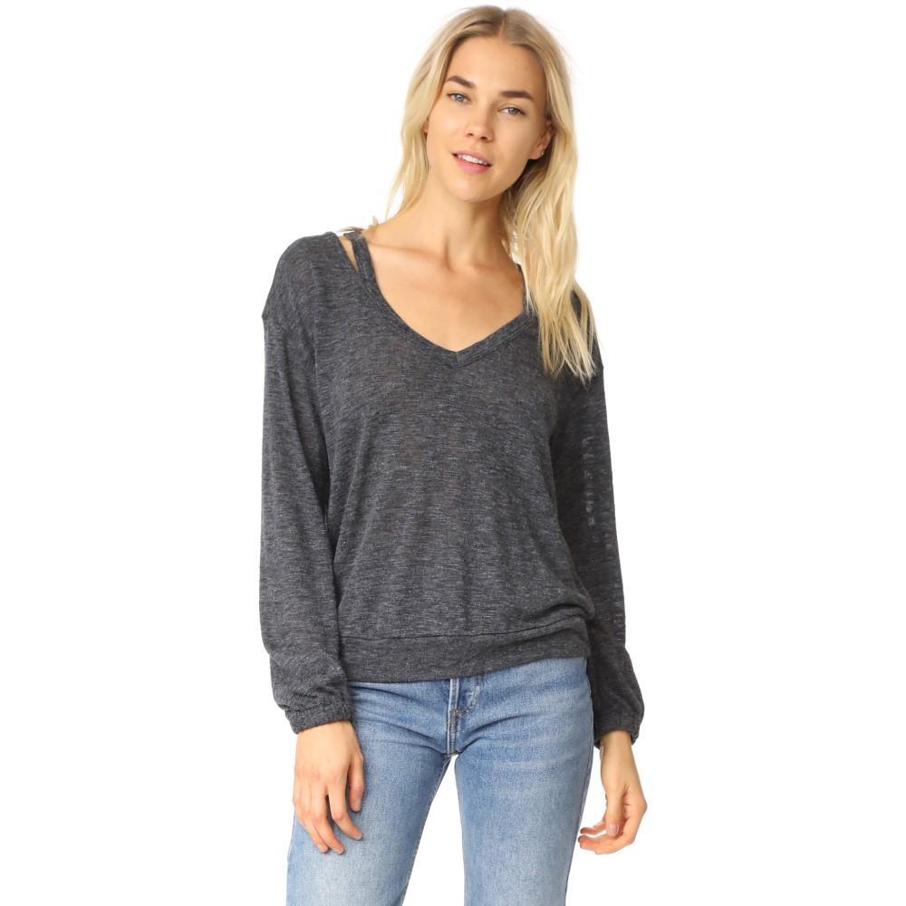 スプレンディッド レディース トップス ニット・セーター【Ashbourne Knit Sweater】Heather Gray