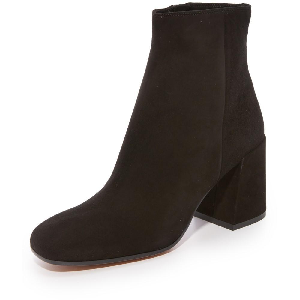 ヴィンス レディース シューズ?靴 ブーツ【Highbury Classic Square Toe Ankle Booties】Black