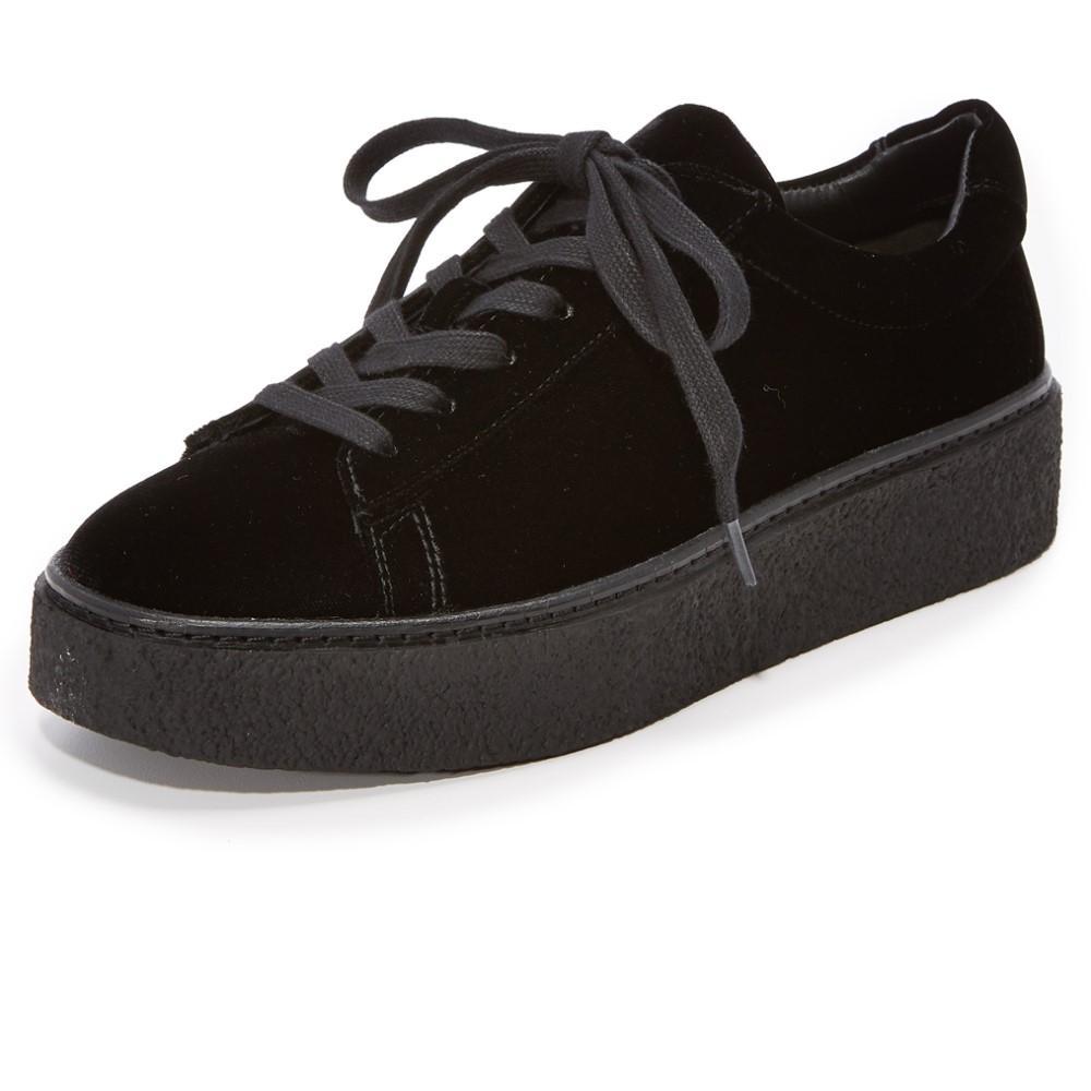 ヴィンス レディース シューズ?靴 スニーカー【Neela Platform Sneakers】Black