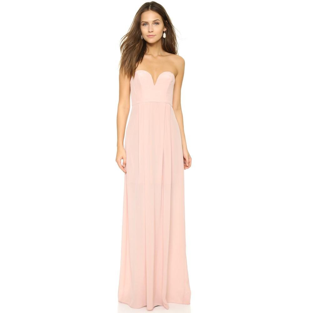 ジマーマン レディース ワンピース・ドレス パーティードレス【Strapless Maxi Dress】Rosewater