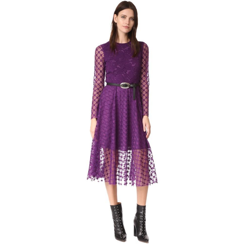 フィロソフィ ディ ロレンツォ セラフィニ レディース ワンピース・ドレス パーティードレス【LS Midi Dress】Violet
