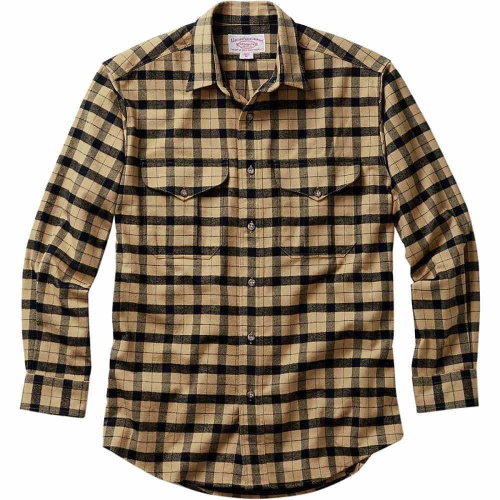 フィルソン Filson メンズ トップス カジュアルシャツ【Alaskan Guide Shirt】Camel/Black