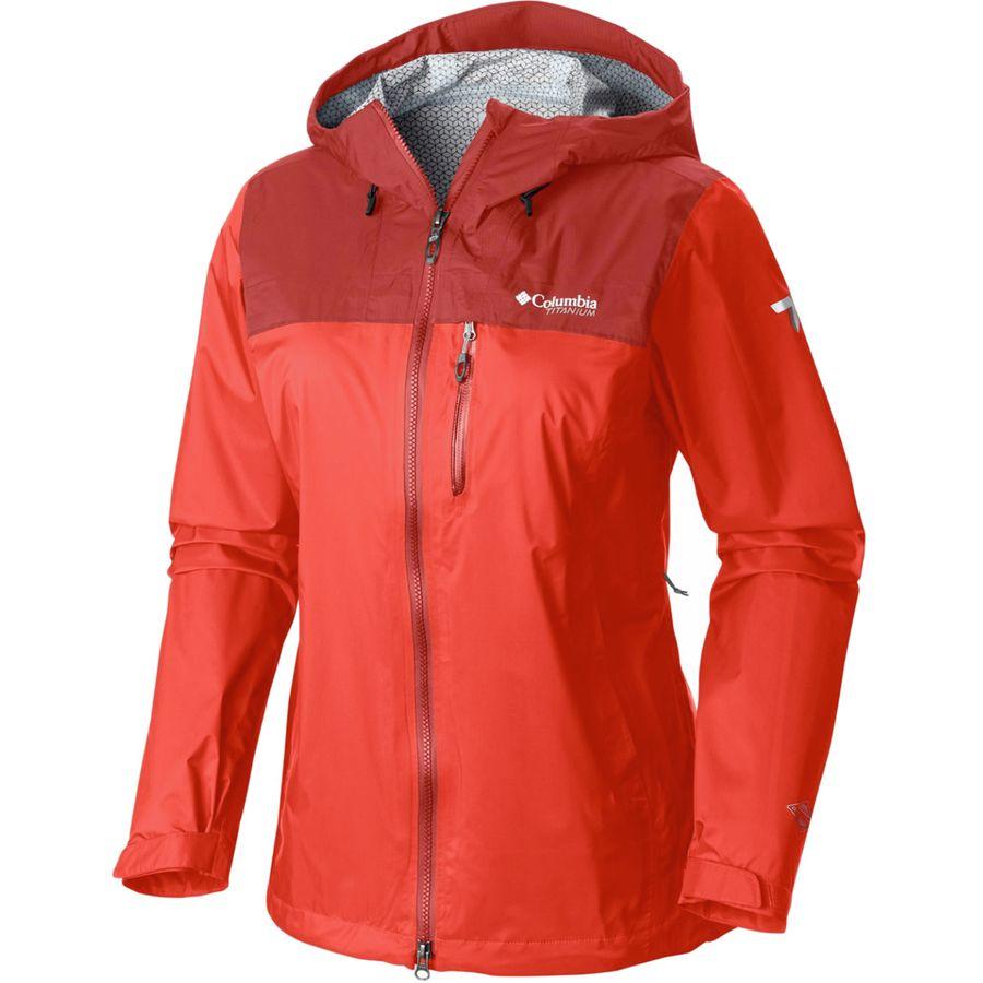 コロンビア Columbia レディース アウター レインコート【Evapouration Premium Jacket】Zing