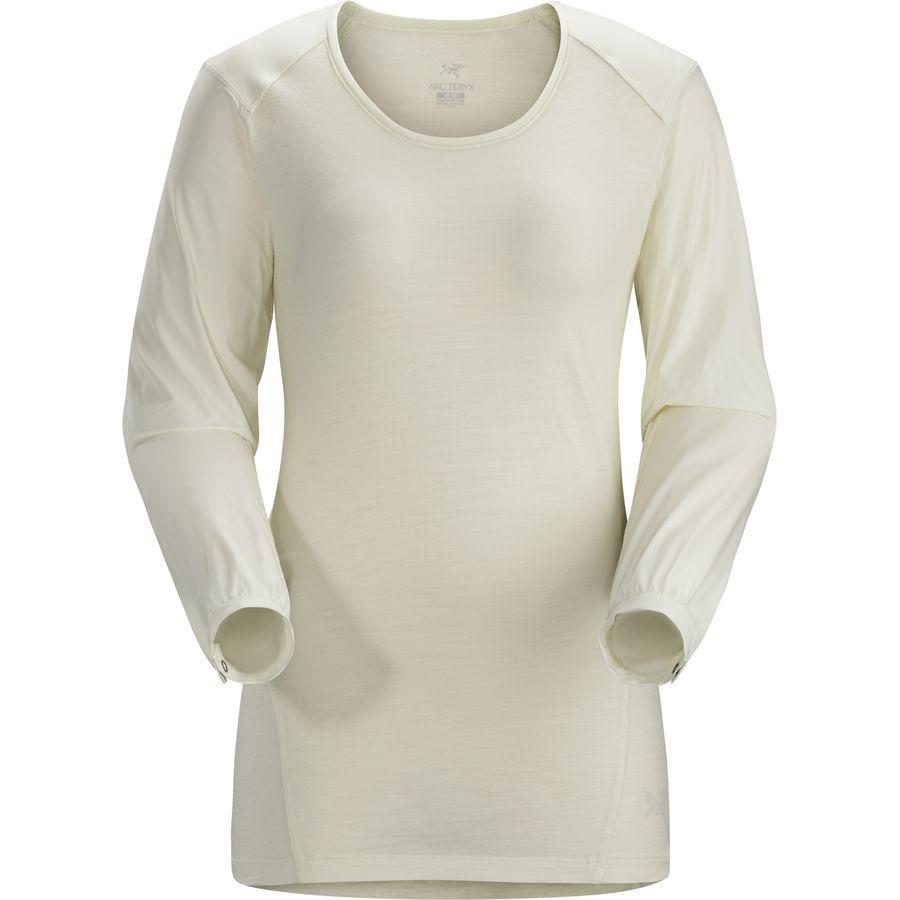 アークテリクス Arc'teryx レディース トップス Tシャツ【Lana Comp Shirt】Vintage Ivory