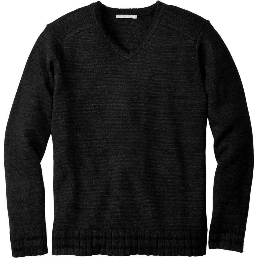 スマートウール SmartWool メンズ トップス ニット・セーター�Larimer V-Neck Sweater】Charcoal Heather