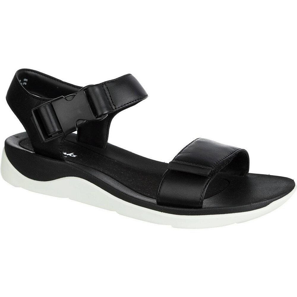 クラークス Clarks レディース シューズ・靴 サンダル【Caval Dixie Sandal】Black Leather