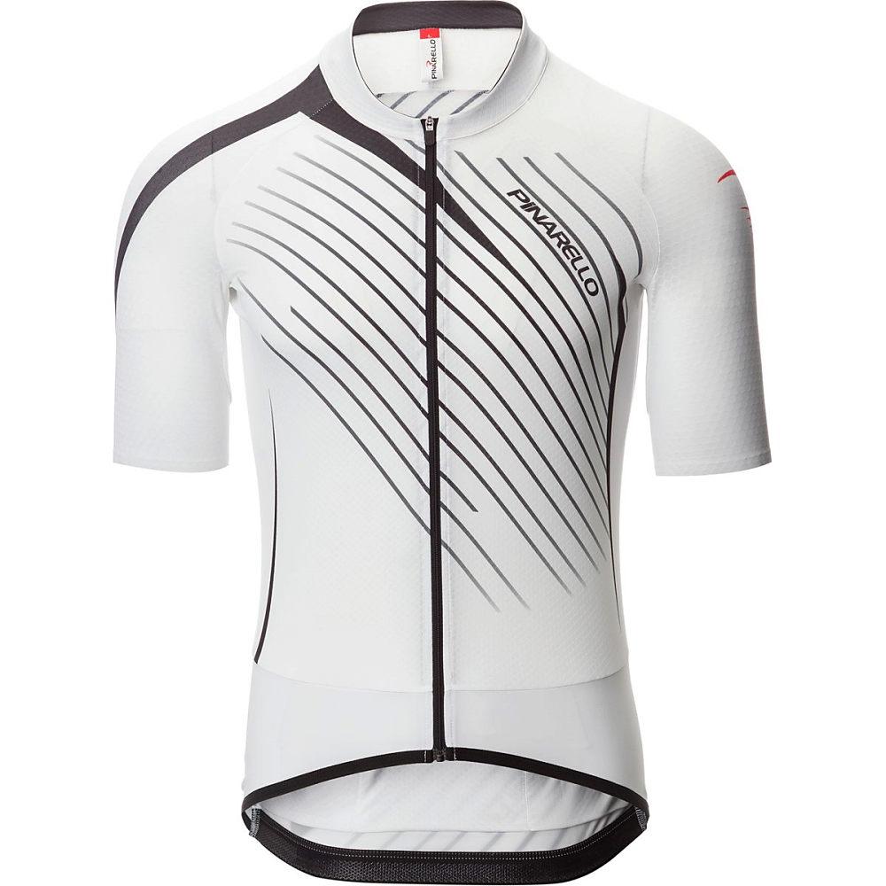 ピナレロ Pinarello メンズ サイクリング ウェア【Tour Jersey】White/Black