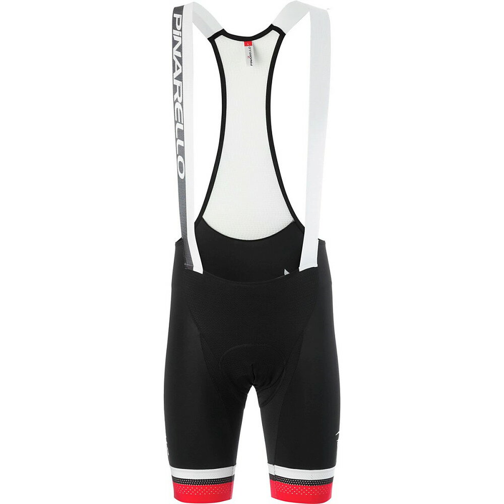 ピナレロ Pinarello メンズ サイクリング ウェア【Corsa Bib Short】Black/Red