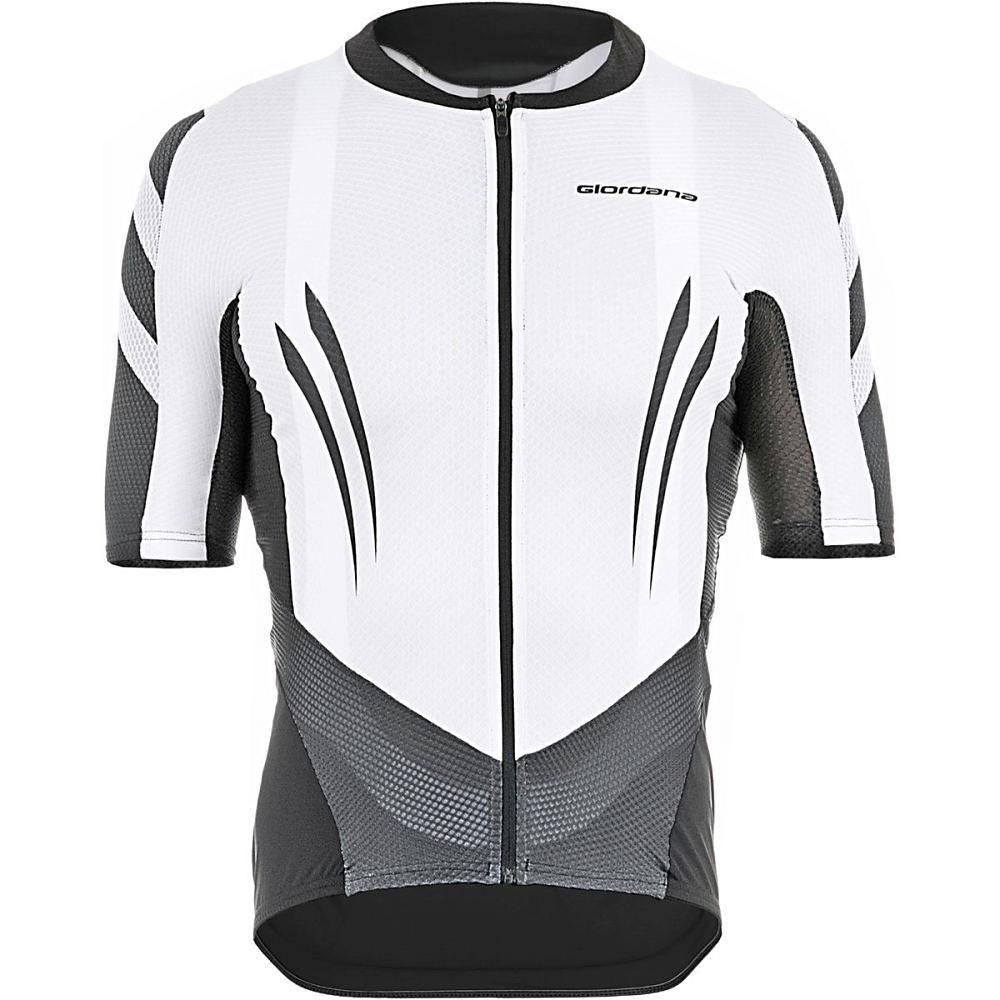 ジョルダーノ Giordana メンズ サイクリング ウェア【EXO System Jersey】White/Black