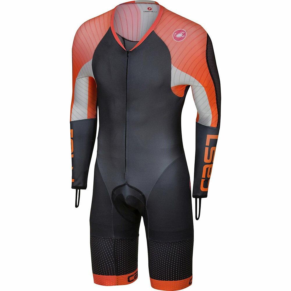 カステリ Castelli メンズ サイクリング ウェア【Body Paint 3.3 Speed Suit】Black/Orange