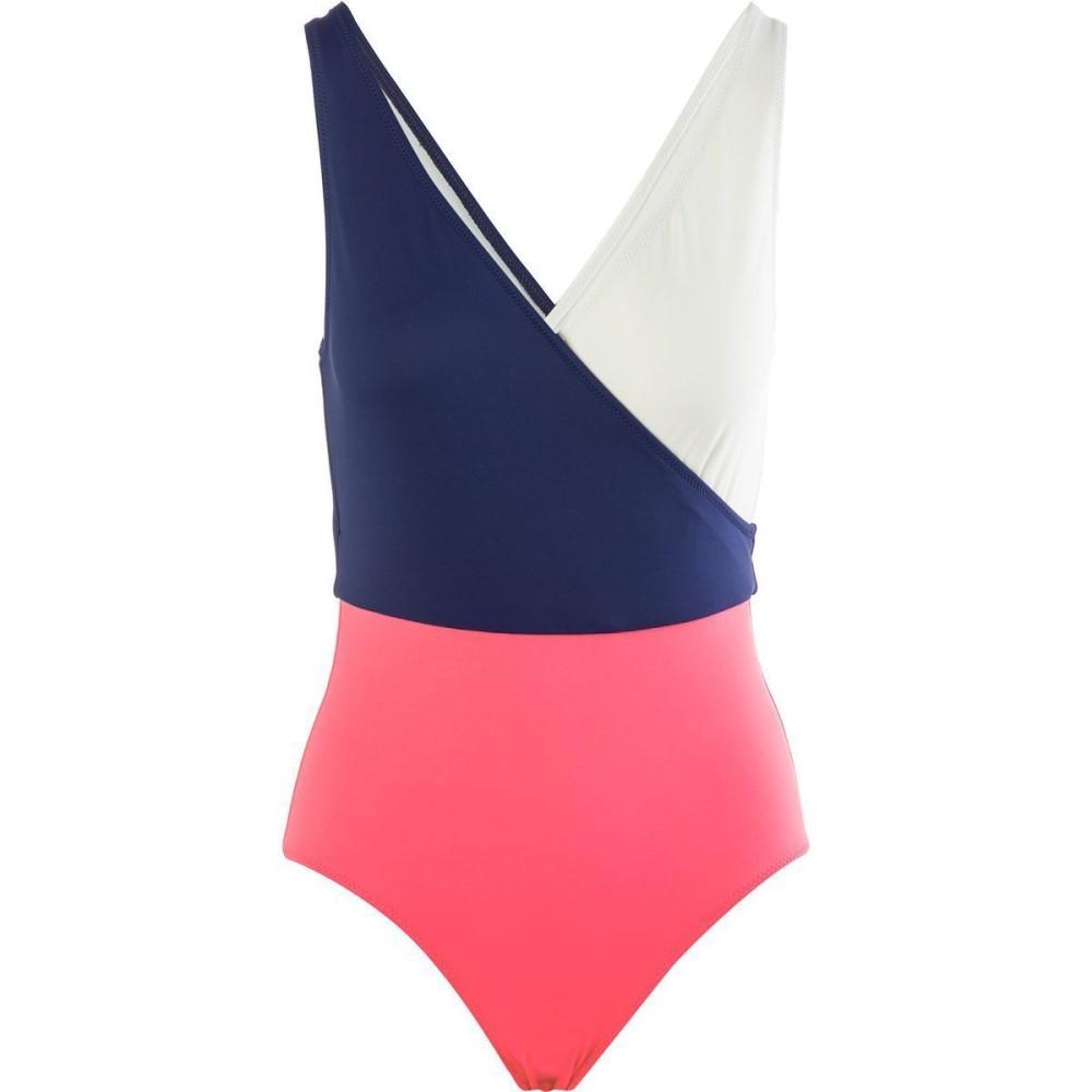 ソリッド&ストライプ Solid & Striped レディース 水着 スイムウェア【Ballerina One - Piece Swimsuit】Navy Cream Pink