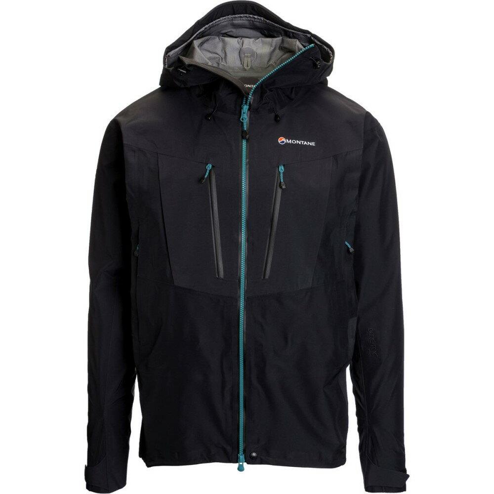 モンテイン Montane メンズ アウター ジャケット【Endurance Pro Jackets】Black/Black/Zanskar Blue Zips