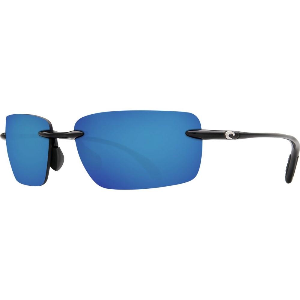 コスタ Costa レディース アクセサリー メガネ・サングラス【Oyster Bay 580P Sunglasses - Polarized】Shiny Black Blue Mirror 580p