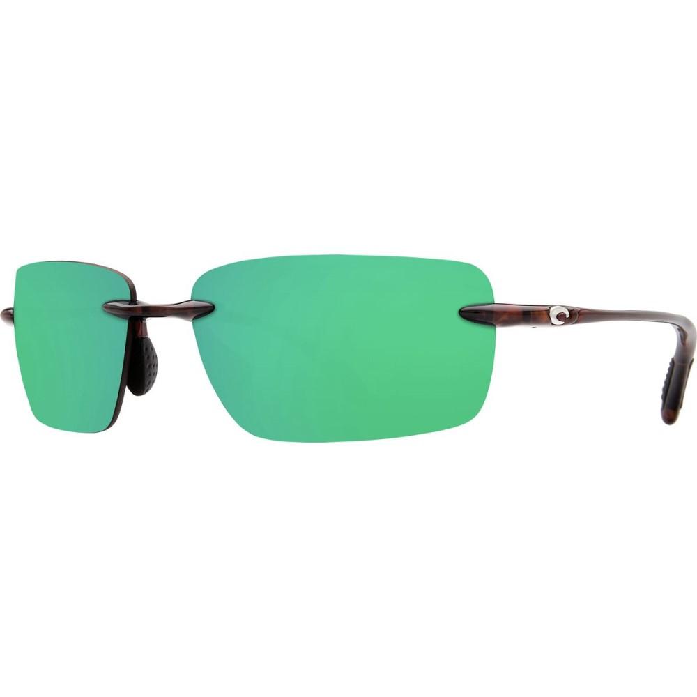 コスタ Costa レディース アクセサリー メガネ・サングラス【Oyster Bay 580P Sunglasses - Polarized】Shiny Tort Green Mirror 580p