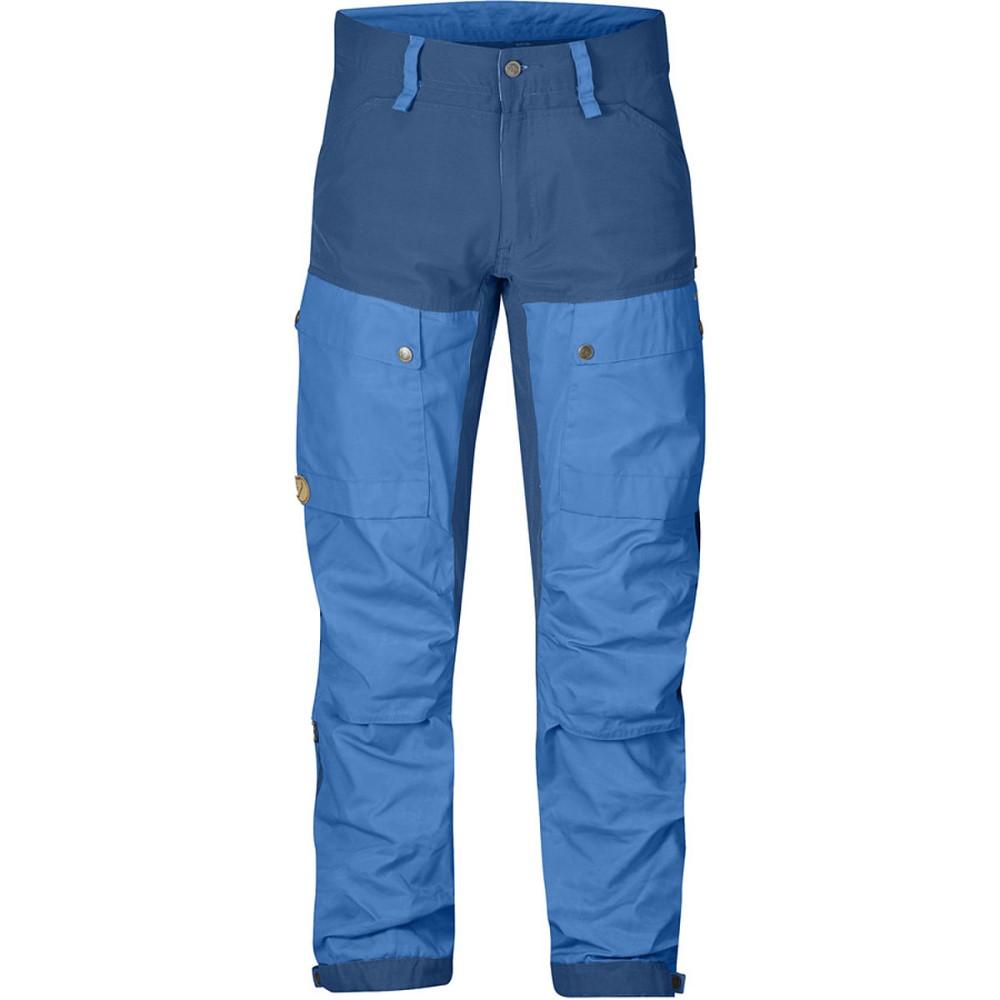 本物品質 フェールラーベン Fjallraven メンズ クライミング ウェア【Keb Trousers】UN Blue/Uncle Blue