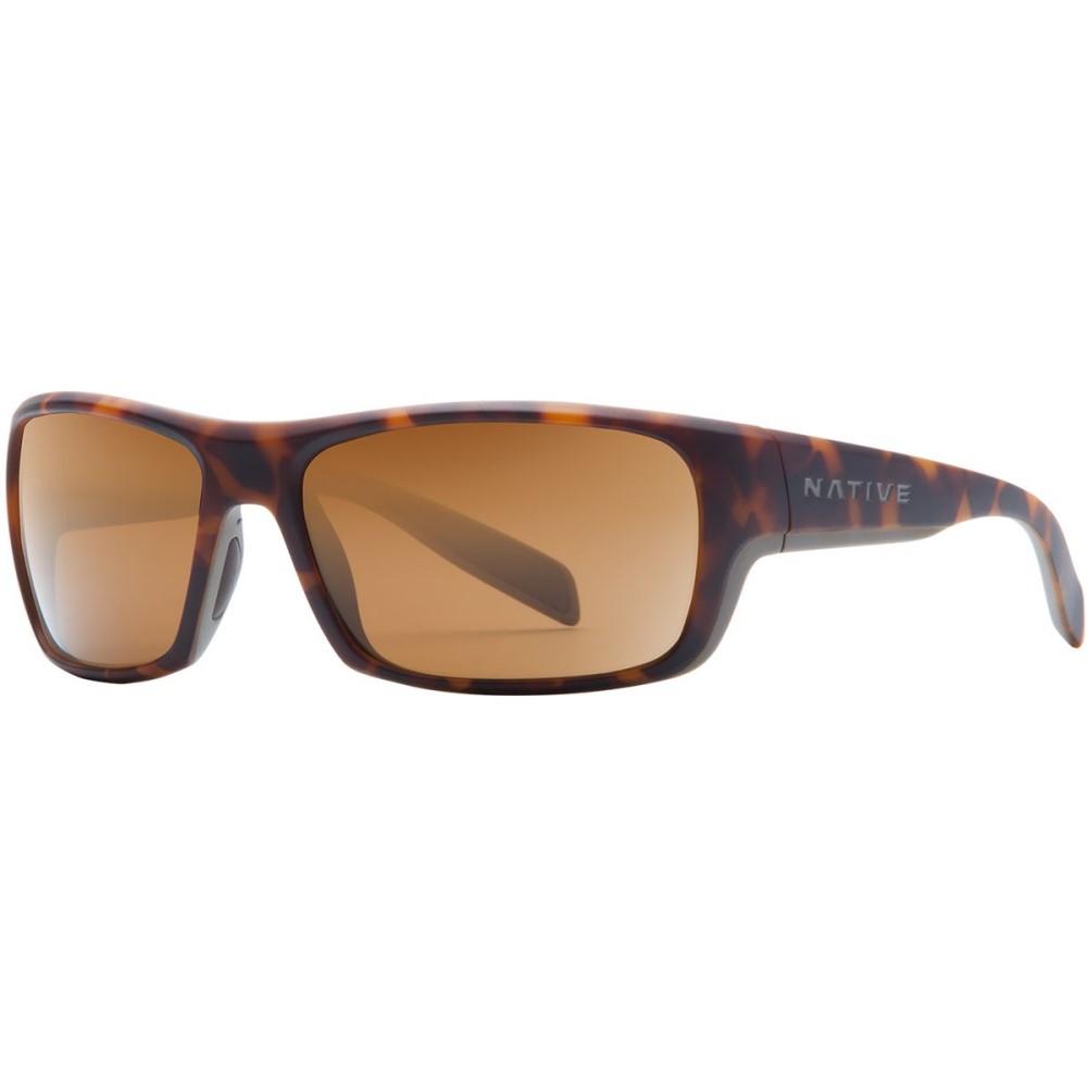 ネイティブアイウェア Native Eyewear レディース アクセサリー メガネ・サングラス【Eddyline Sunglasses - Polarized】Desert Tort / Matte Gray/Brown