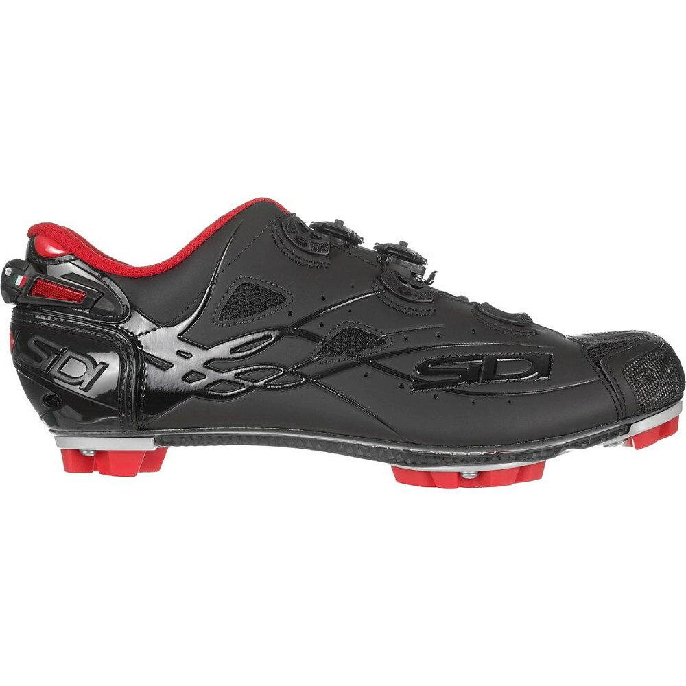 シディー メンズ 自転車 シューズ・靴【Tiger Cycling Shoes】Black/Matte Black