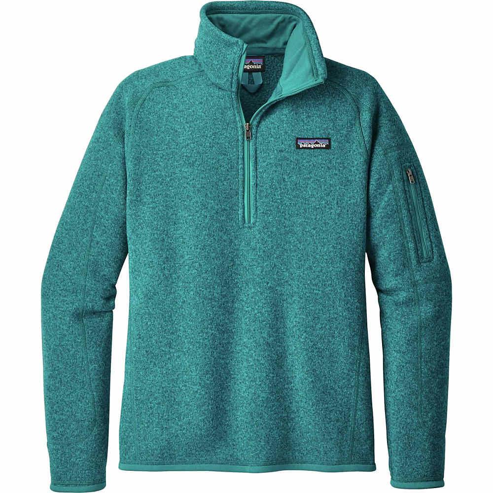 パタゴニア レディース アウター ジャケット【Better Sweater 1/4 - Zip Fleece Jacket】Elwha Blue