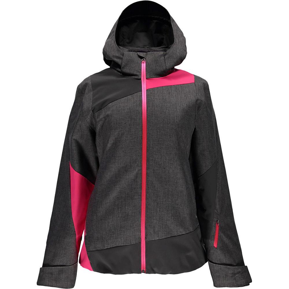 スパイダー レディース アウター ジャケット【Lynk 3 - in - 1 Jacket】Weld Crosshatch/Weld/Bryte Pink