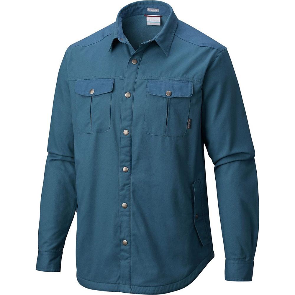コロンビア メンズ トップス【Hyland Woods Shirt Jackets】Blue Heron
