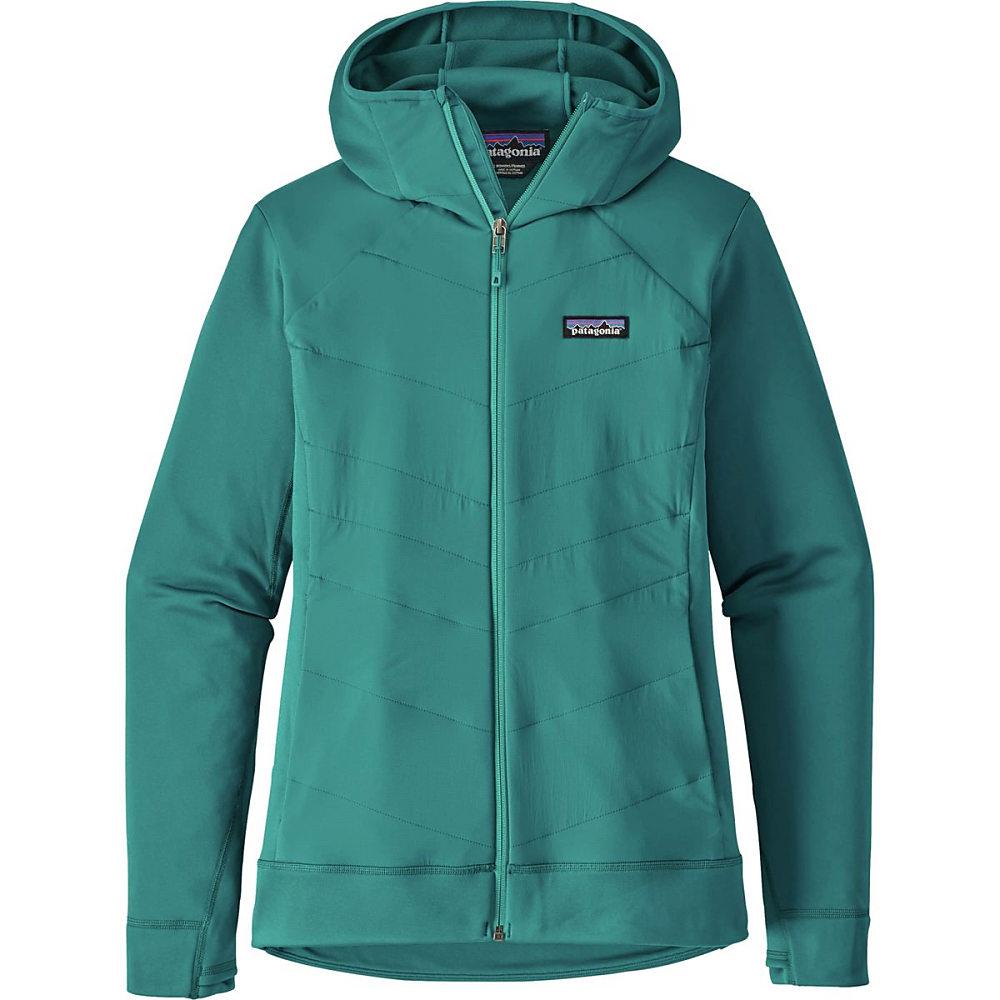 パタゴニア レディース アウター ジャケット【Crosstrek Hybrid Hooded Jacket】Elwha Blue